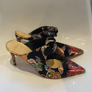 "NIB Alexandre Birman""Evelyn""jacquard heel mule 9.5"